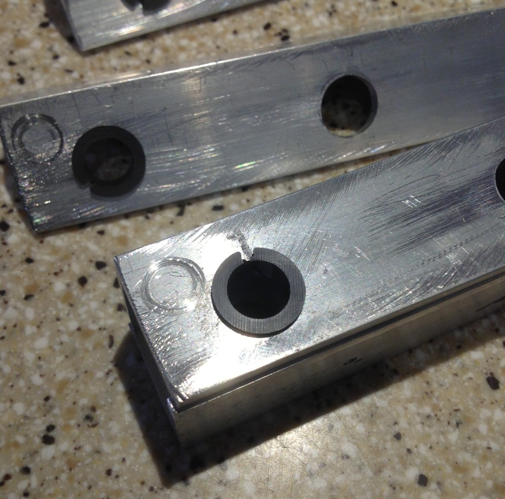 iGlide Clip Bearings installed on subframe